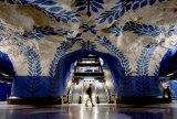 """Швеция, Стокгольм. """"T-Centralen"""" бекеті"""